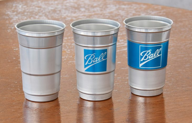 Ball Aluminum Cups