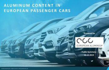 Aluminum Content in European Passenger Cars