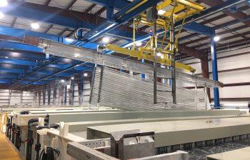 Pries Enterprises - new anodizing line