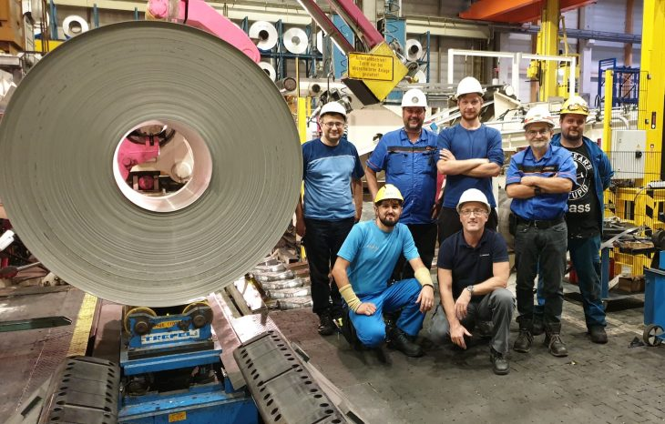 Primetals Technologies successfully commissions continuous heat treatment line no. 2 for AMAG rolling