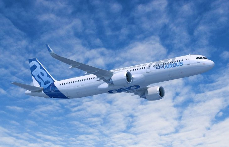 A321neo - Airbus S.A.S. - Computer rendering by Fixion-GWLNSOD
