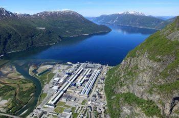 Hydro-Sunndal aluminium plant