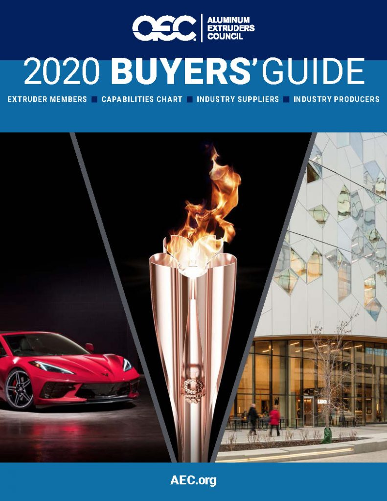 AEC Releases 2020 Extrusion Buyer's Guide