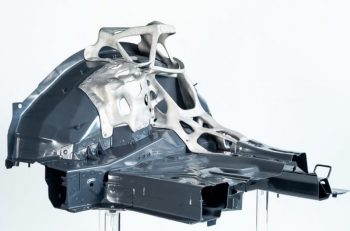 EDAG - 3D printed automotive aluminum component