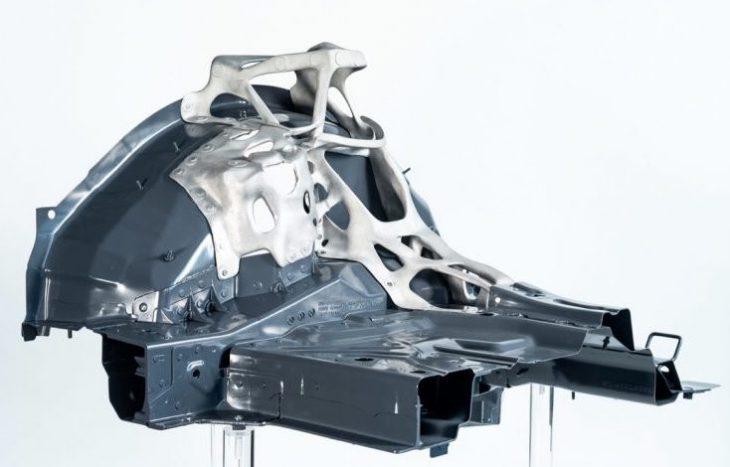 EDAG - 3D printed automotive aluminum component