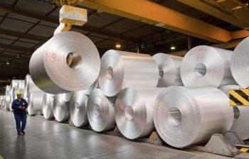 Flat rolled sheet aluminum foil