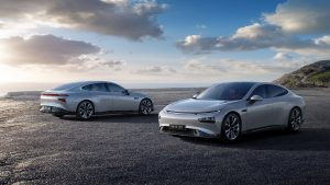 Xpeng P7 electric sports sedan