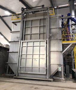 Figure 5. The new homogenizing furnaces provide homogenization for both soft and hard alloys.