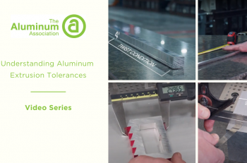 Aluminum Association-Understanding Aluminum Extrusion Tolerances
