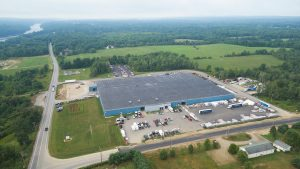 The F3 facility in Waterville, Maine, manufactures aluminum truck and van bodies.