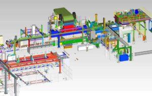 Vitex Extrusion- New aluminum extrusion press line.