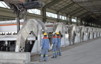 Emirates Global Aluminium (EGA) - aluminum smelting pot cells