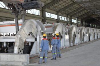 Emirates Global Aluminium (EGA) - aluminum smelting pot cells