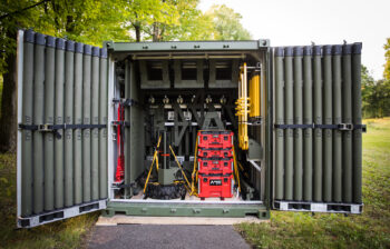 Figure 1. The LVTB is designed to be a Bridge in a Box that can quickly be shipped and deployed for emergency situations.