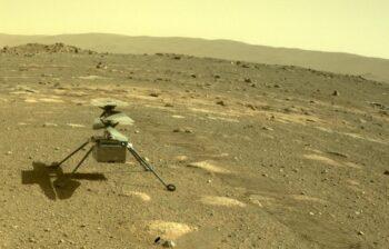 NASA's Ingenuity Helicopter deployed on Mars