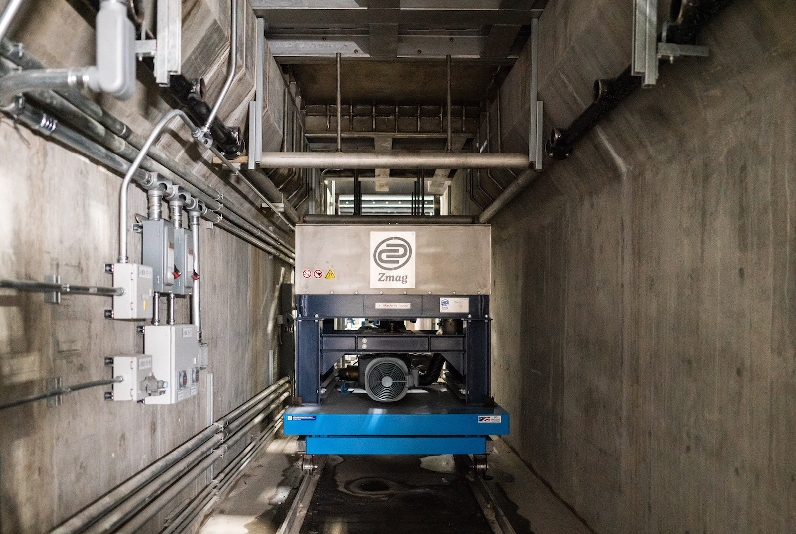 Figure 3. The furnaces are outfitted with a permanent magnet stirrer for improving efficiency of the melting process.