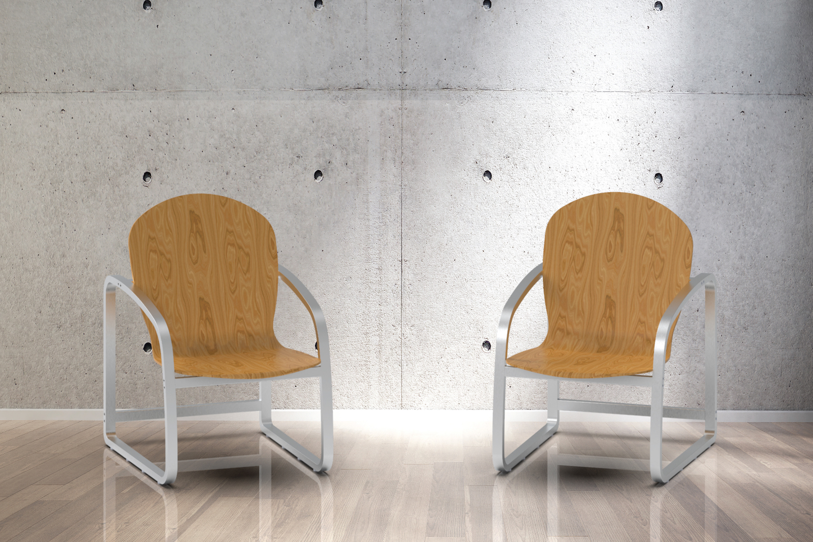 Figure 4. The BAKS chair, with its durable, comfortable and easy to assemble design, won Third Place.