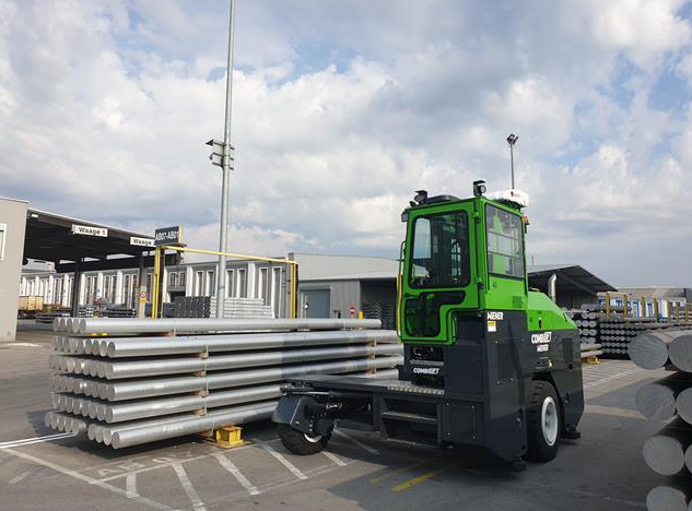 HAI - Hammerer Aluminium Industries - new combilift multi-directional forklift