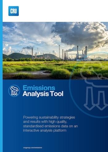 CRU-Emissions Analysis Tool - sustainability data