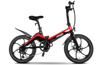 Ducati MG-20 foldable e-bike with a magnesium frame