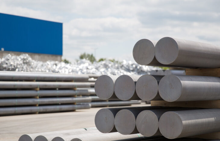 Hydro-aluminum billet recycling