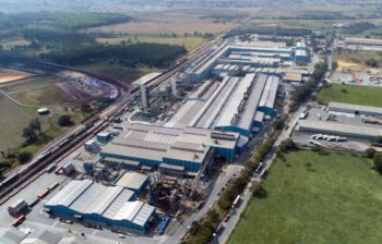 Novelis - aluminum rolling and recycling complex in Brazil