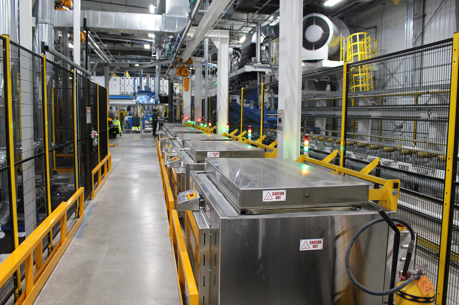 Figure 4. High efficiency die ovens.