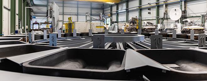 TRIMET aluminum casting machine