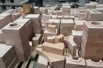 Plibrico - stacks of refractories for aluminum and steel furnaces