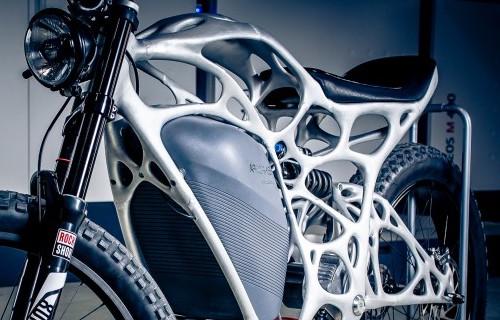 3D-printed aluminum-scandium motorcycle